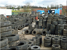 TQ2282 : A site for tyred eyes by Robin Webster