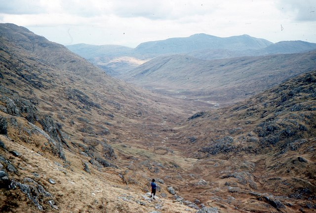 Upper Glen Dessarry 1976