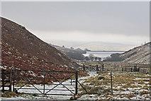 NN9701 : Track in Glen Quey by William Starkey