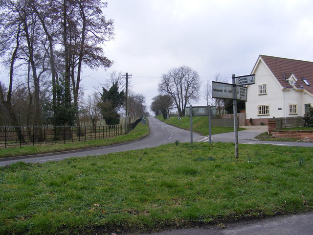 B1117 Halesworth Road