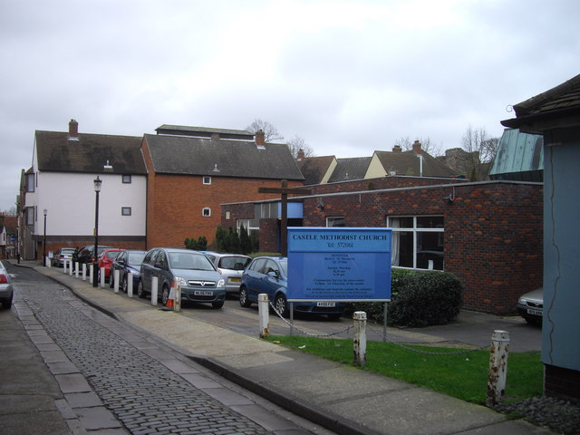 Castle Methodist Church, Maidenburgh Street, Colchester