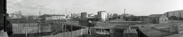 Shell Haven East Site panorama, 1967