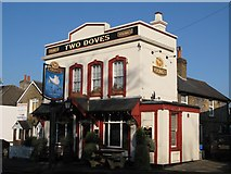 TQ4265 : The Two Doves, Oakley Road, BR2 (2) by Mike Quinn
