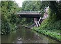 SP0478 : Primrose Hill Bridge near King's Norton, Birmingham by Roger  Kidd