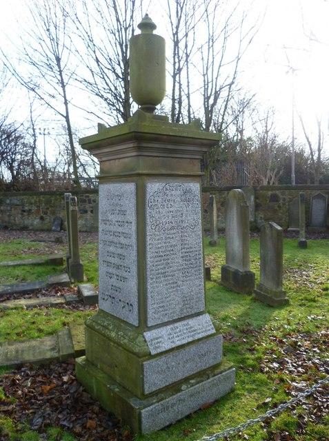 Jewish Soldiers Memorial, Piershill Cemetery