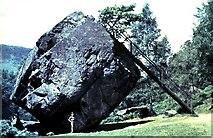 NY2516 : Bowder Stone 1959 by Dave Spicer