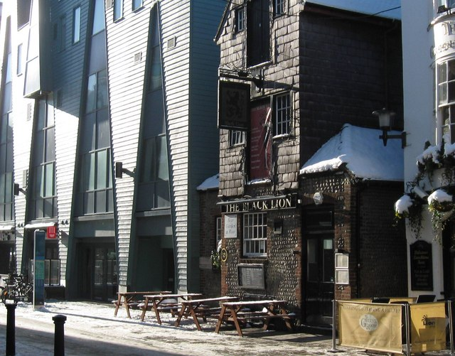 The Old and the New, Black Lion Street