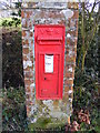 TM3681 : Aldous's Corner Victorian Postbox by Adrian Cable