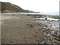 TG2639 : The beach below Sidestrand by Evelyn Simak