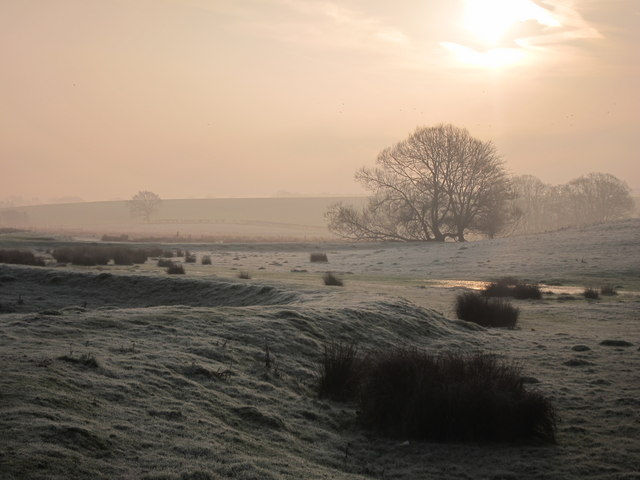 Sunrise by the River Brede