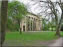 SD8303 : Former Town Hall Colonnade (1), Heaton Park by P L Chadwick