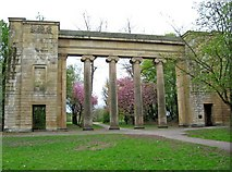 SD8303 : Former Town Hall Colonnade (3), Heaton Park by P L Chadwick