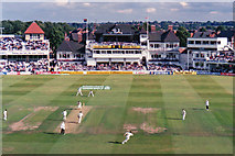 SK5838 : Trent Bridge Cricket Ground: the first day of the 1998 Test Match by John Sutton