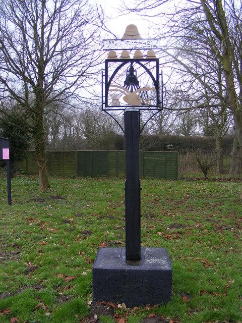 Brampton Village Sign