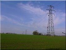 SU8315 : Pylons across field by Shazz