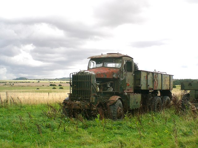 Vehicle Alignment Near Me >> Keep on trucking: derelict army vehicle... © Stefan Czapski cc-by-sa/2.0 :: Geograph Britain and ...