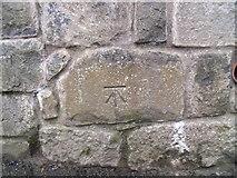 SH4862 : Benchmark on boundary wall of military school & barracks, Caernarfon by Meirion