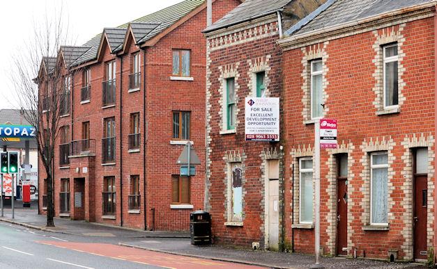 Development site, east Belfast