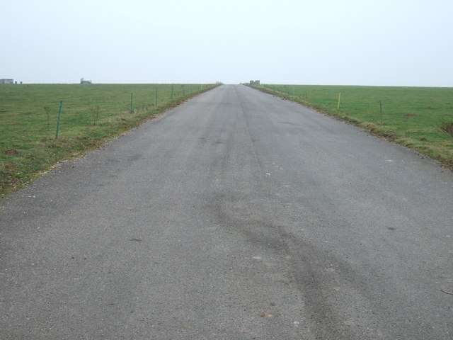 Service road at Sculthorpe airfield