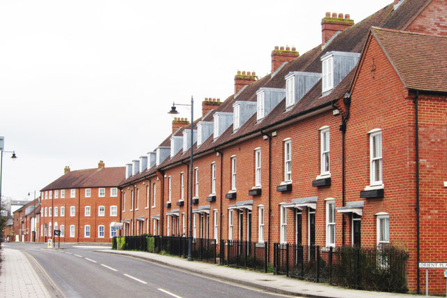 Houses on Station Road West