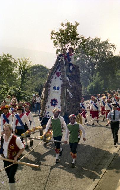 Saddleworth Rushcart 1976