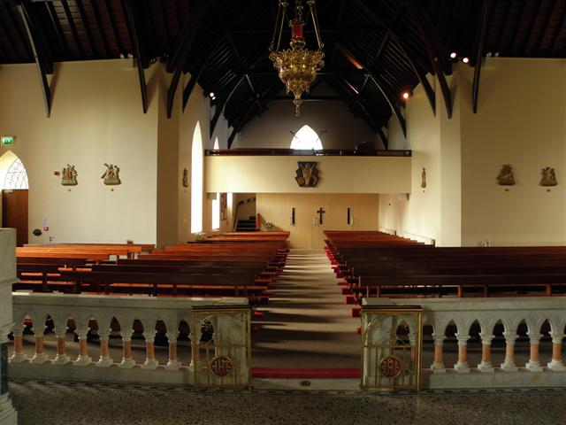 Interior, St Malachy's Church, Ballymacilroy