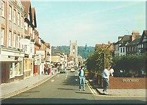 SU7682 : Hart Street (A4130), Henley-on-Thames in 1986 by John Baker