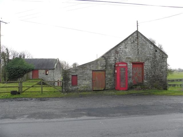 Old farm building, Cleanally