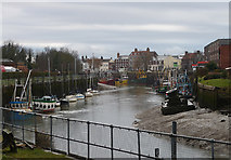 TF3243 : River Witham, Boston (1) by Stephen Richards