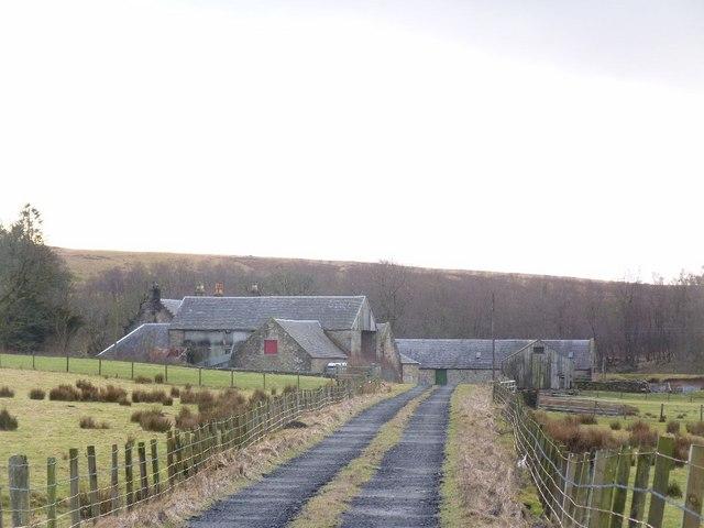 Upper Wellwood Farm, near Muirkirk