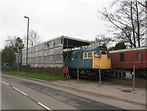 SO6302 : Dean Forest Railway shed by Gareth James