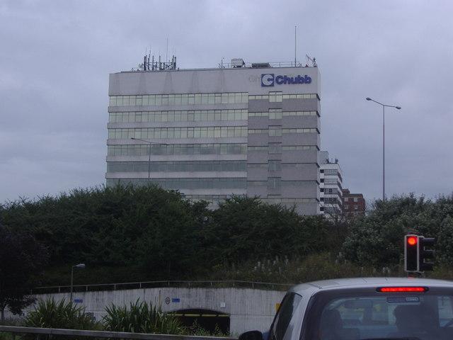 Chubb offices, Sunbury Cross
