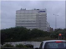 TQ1070 : Chubb offices, Sunbury Cross by David Howard