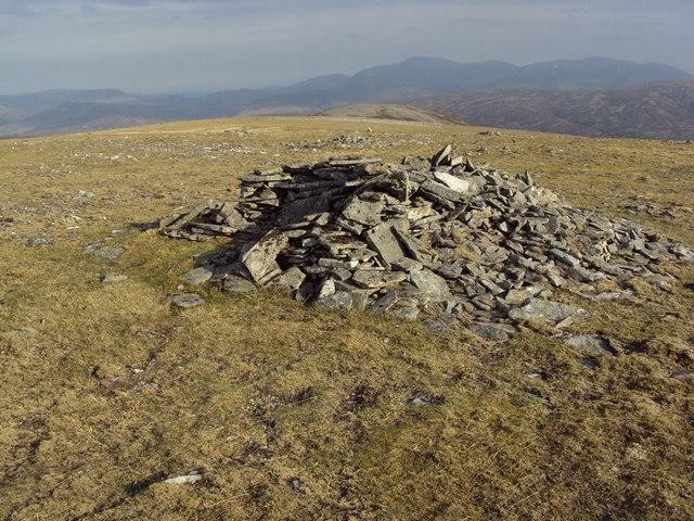 An Sgarsoch East Top and SE ridge