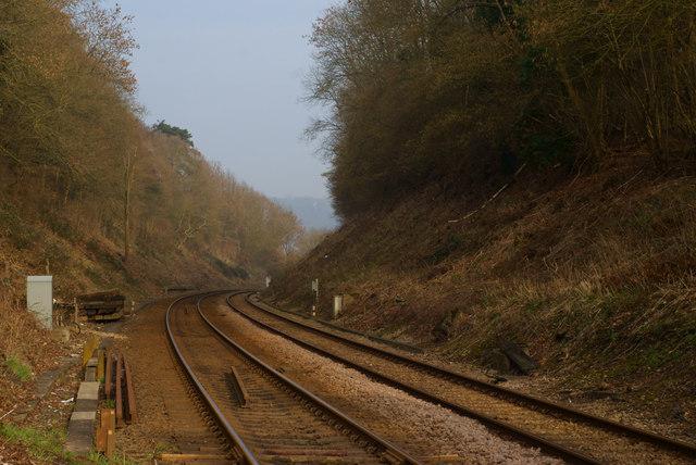 Railway Cutting, Betchworth, Surrey