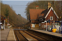 TQ2151 : Betchworth Station, Surrey by Peter Trimming