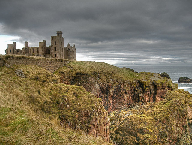 Cruden Bay: New Slains Castle