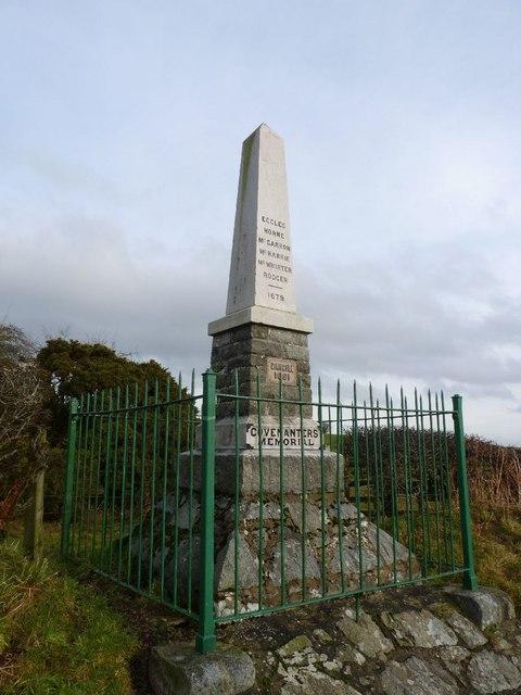 Covenanters' Memorial, Cargilston