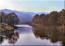 NN9357 : River Tummel, Pitlochry by David Dixon