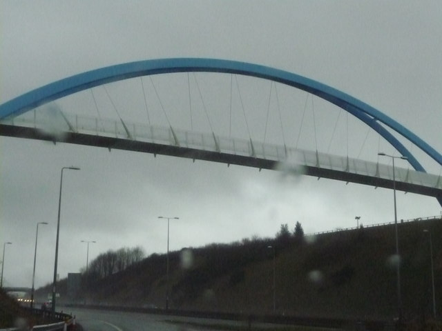Exeter : New Bridge over the M5