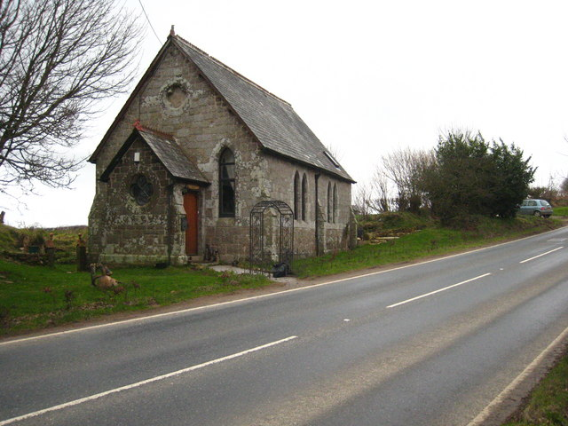 Converted chapel on the B3268 near Sweetshouse