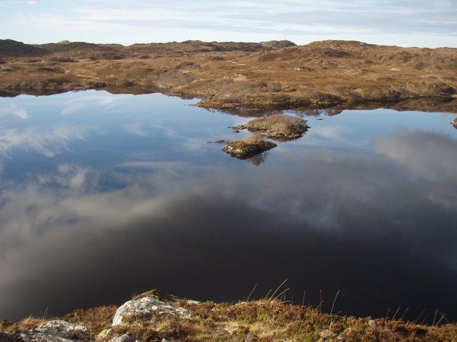 Islands in Loch Poll