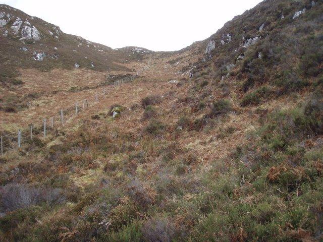 Moorland above Loch Torr nan Uidhean