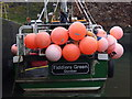 NT6779 : Coastal East Lothian : Space Hoppers at Victoria Harbour, Dunbar by Richard West