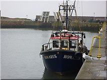 NT6779 : Coastal East Lothian : Homarus at Victoria Harbour, Dunbar by Richard West