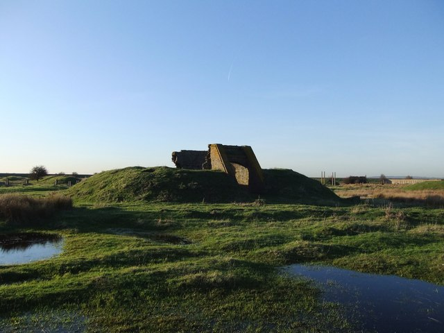 Ruins of the explosives works, near Lower Hope Point (4)