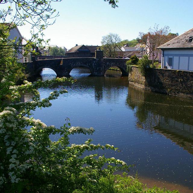 Old Bridge over Western Cleddau