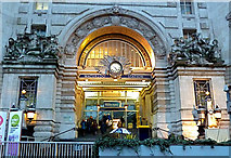 TQ3179 : Waterloo Station - main entrance by Anthony O'Neil