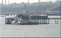 SU4208 : Hythe Pier and ferry terminal by Stuart Logan