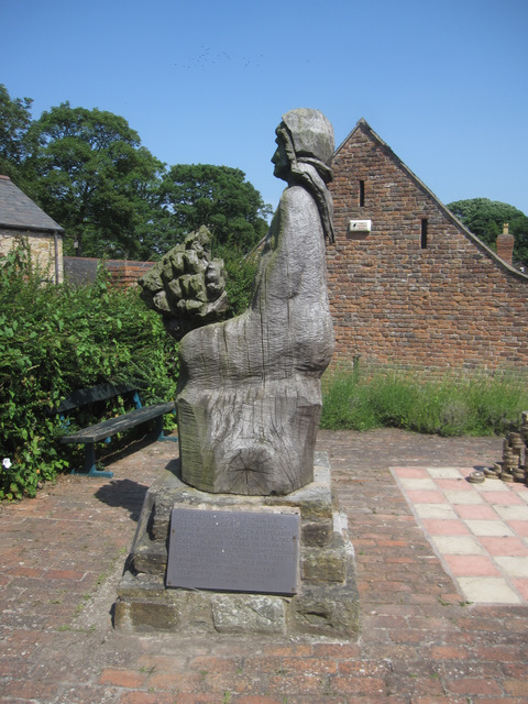 The Menden sculpture in Greenfield Valley Museum